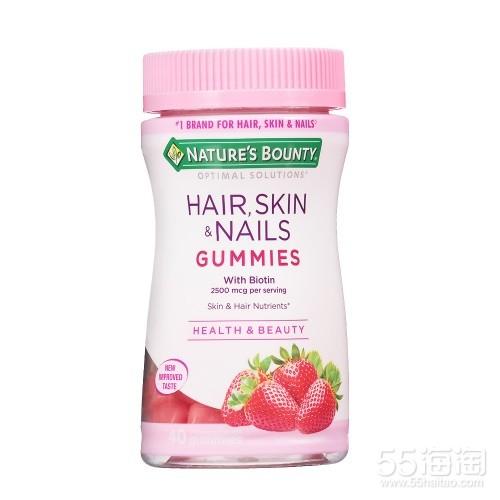 Nature's Bounty 自然之宝 胶原蛋白软糖 草莓口味 40粒 $3.86(约27元)