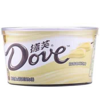 限地区: Dove 德芙 奶香白巧克力 碗装 252g 16.9元