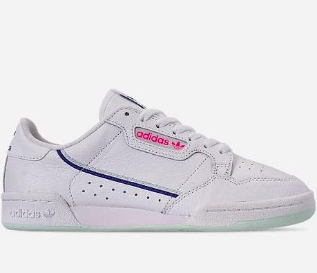 adidas Originals 三叶草 Continental 80 女子休闲鞋 $40(约278元)