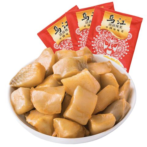 乌江 涪陵榨菜小包装脆口榨菜 22g*15袋 *2件 19.05元 包邮