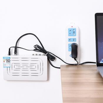 纳合 创意可移动插排固定器 2个装 6.7元包邮(需用券)