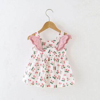 山雀和熊 女宝宝吊带连衣裙,15.9元包邮
