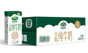 Arla 阿尔乐 全脂牛奶 200ml*24盒 *2件 81.86元包邮(双重优惠)