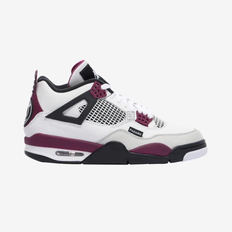【新品预告】PSG x Air Jordan 4 乔丹4代大巴黎篮球运动鞋 $225(约1512元)
