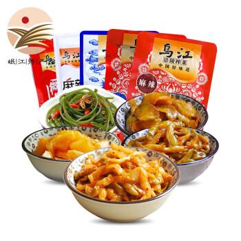 乌江 涪陵榨菜套餐 5种口味 15袋装 约710g 14.9元(需用券)