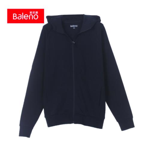 Baleno 班尼路 男士连帽卫衣外套 45元(包邮)